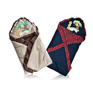 Produk dan Peralatan Bayi Gendongan Depan Bayi Baby Scots Baby Blanket ISBB010