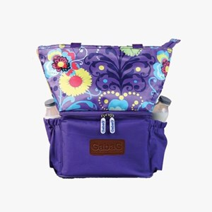 Cooler Bag Natural Mom - Polka Sling