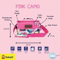 Produk dan Peralatan Bayi Tas Asi Cooler Bag Gabag - Pink Camo