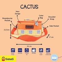 Produk dan Peralatan Bayi Tas Asi Cooler Bag Gabag - Cactus