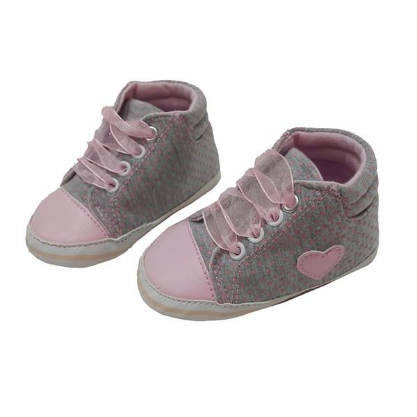 Sepatu Bayi Prewalker Baby Mc - Lovely Grey