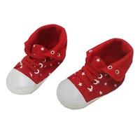 Sepatu Bayi Prewalker Baby Mc - Red Polka