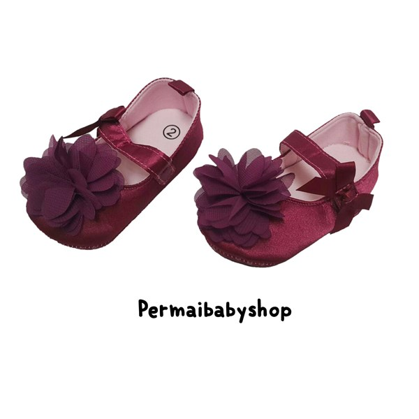 Sepatu Bayi Prewalker Baby Mc - Purple