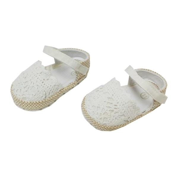 Prewalker Baby Baby Shoes Mc - White Lace