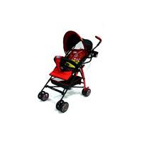 Jual Produk dan Peralatan Bayi Kereta Dorong Stroller Baby L'abeille - Buggy Rocky Red