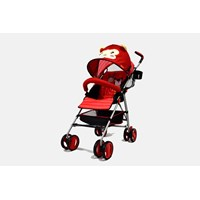 Jual Produk dan Peralatan Bayi Kereta Dorong Stroller Baby L'abeille - Buggy Red