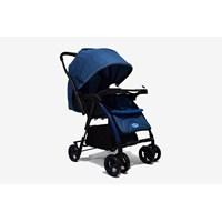 Produk dan Peralatan Bayi Kereta Dorong Stroller Baby L'abeille - Polo Navy