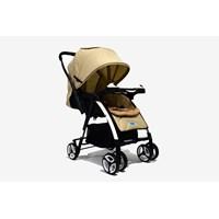 Produk dan Peralatan Bayi Kereta Dorong Stroller Baby L'abeille - Polo Brown