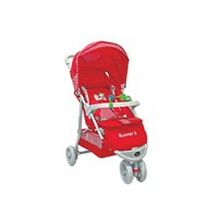 Produk dan Peralatan Bayi Kereta Dorong Stroller Baby Pliko - Runner 2 Red
