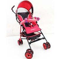 Produk dan Peralatan Bayi Kereta Dorong Stroller Baby Pliko - Adventure Red