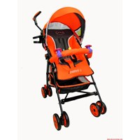 Produk dan Peralatan Bayi Kereta Dorong Stroller Baby Pliko - Adventure Orange