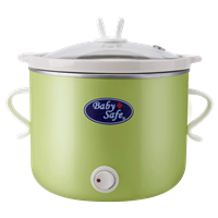 Produk dan Peralatan Bayi Baby Safe Slow Cooker 0.8 L On/Off Button