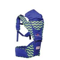 Produk dan Peralatan Bayi Gendongan Depan Bayi Hipseat Baby Family - BFG 3101 Blue Electric