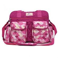 Produk dan Peralatan Bayi Tas Bayi Bayi Sling Bag Baby Family - BFT 2301 Pink