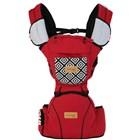 Produk dan Peralatan Bayi Gendongan Depan Hipseat Dialgue Baby - DGG 1013 Red Gray 1