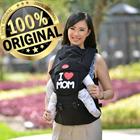 Produk dan Peralatan Bayi Gendongan Depan Hipseat Dialogue Baby - DGG 1016 Black 1