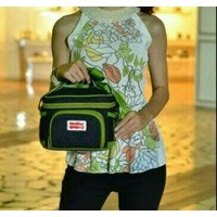 Baby Products and Equipment Cooler Baby Bags Bag Dialogue Baby - DGT 7123 Green