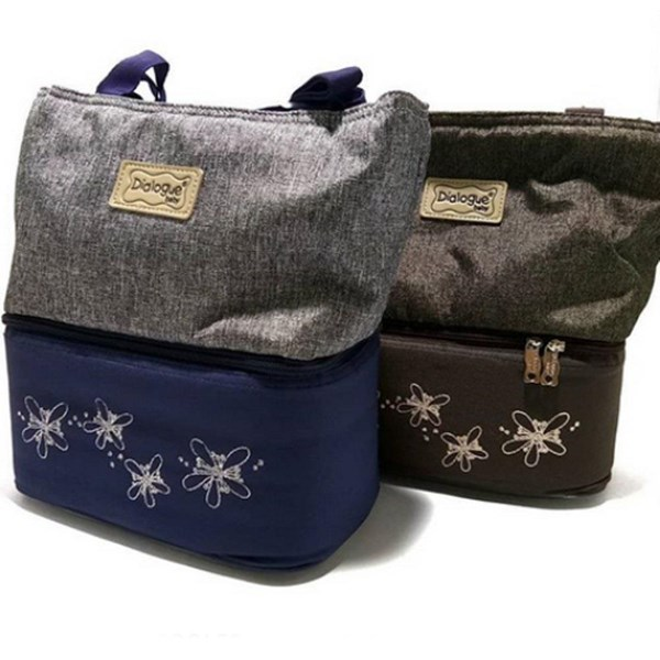 Produk dan Peralatan Bayi Tas Bayi Cooler Bag Dialogue Baby - DGT 7131 Navy