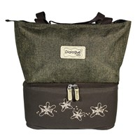 Baby Products and Equipment Cooler Baby Bags Bag Dialogue Baby - DGT 7131 Brown