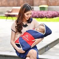 Produk dan Peralatan Bayi Selimut Bayi Moms Baby - MBB 5009 Blue