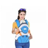Produk dan Peralatan Bayi Gendongan Bayi Hipseat Moms Baby - MBG 2011 Blue