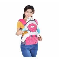 Produk dan Peralatan Bayi Gendongan Bayi Hipseat Moms Baby - MBG 2011 Pink