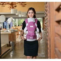 Produk dan Peralatan Bayi Gendongan Bayi Hipseat Moms Baby - MBG 2012 Purple