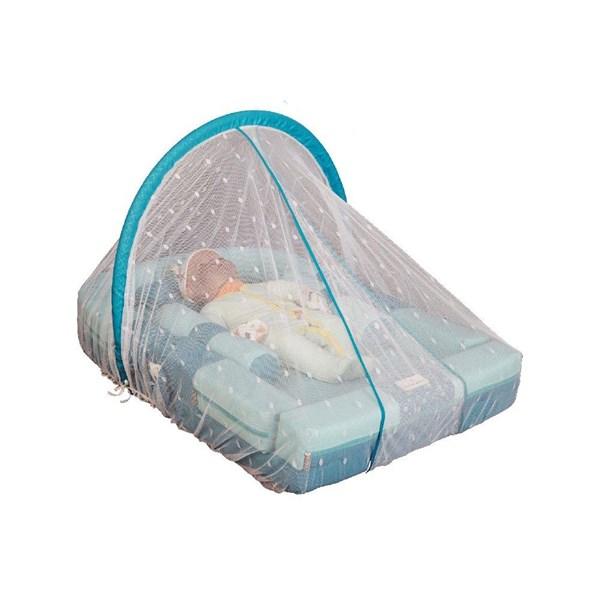 Produk dan Peralatan Bayi Kasur Bayi Moms Baby - MBK 4007 Blue