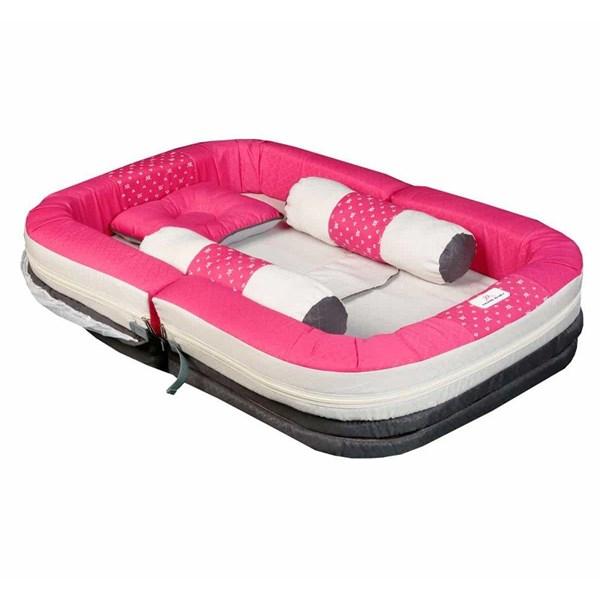 Produk dan Peralatan Bayi Kasur Bayi Moms Baby - MBK 4008 Pink