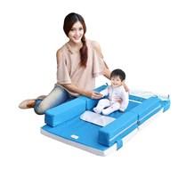 Produk dan Peralatan Bayi Kasur Bayi Moms Baby - MBK 4009 Blue