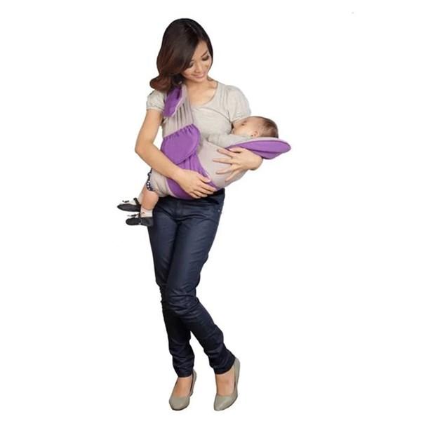 Produk dan Peralatan Bayi Gendongan Bayi Samping Snooby Baby - TPG 1146 Purple