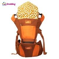Produk dan Peralatan Bayi Gendongan Bayi Hipseat Snooby Baby - TPG 1743 Orange