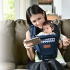 Baby Products and Equipment Baby Carrier Hipseat Snooby Baby - TPG 1842 Navy 1