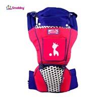 Produk dan Peralatan Bayi Gendongan Bayi Hipseat Snooby Baby - TPG 1943 Pink