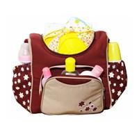 Produk dan Peralatan Bayi Tas Bayi Snooby Baby - TPT 2973 Maroon