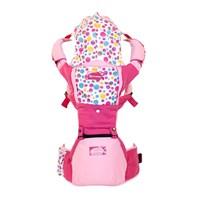 Produk dan Peralatan Bayi Gendongan Bayi Hipseat Snooby Baby - TPG 2245 Pink