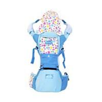 Produk dan Peralatan Bayi Gendongan Bayi Hipseat Snooby Baby - TPG 2245 Blue