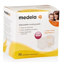 Baby Products and Equipment  Breast Pad Medela 30's