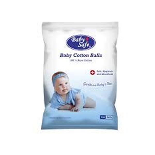 Produk dan Peralatan Bayi Cotton Balls Baby Safe 100