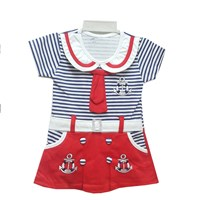 Baju Bayi Dress Bayi Vinata Dev Vv - Sailor Olive with Belt