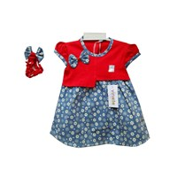 Baju Bayi Dress Bayi Vinata Dev Vo - Dress Batik with Ribbon