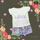 Baju Bayi Dress Bayi Vinata Dev Vo - Love Flowery Set 4