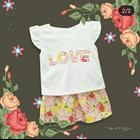 Baju Bayi Dress Bayi Vinata Dev Vo - Love Flowery Set 3