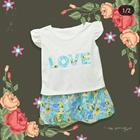 Baju Bayi Dress Bayi Vinata Dev Vo - Love Flowery Set 1