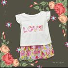 Baju Bayi Dress Bayi Vinata Dev Vo - Love Flowery Set 5