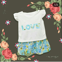 Baju Bayi Dress Bayi Vinata Dev Vo - Love Flowery Set