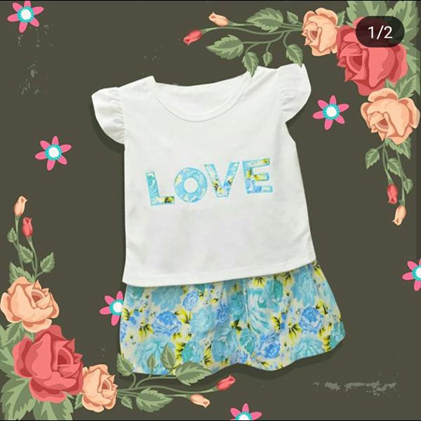 Baju Bayi Dress Bayi Vinata Dev Vo - Love Flowery Set