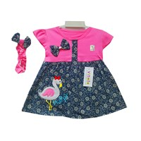 Baju Bayi Dress Bayi Vinata Dev Vo - Happy Flamingo