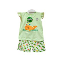 Pakaian Bayi Setelan Bayi Vinata Dev Vu - Baby Dolphin Set