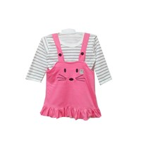 Baby Clothes Vinata Dev Vu Baby Dress - Overall Baby Bunny
